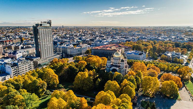 бизнес счет в Латвии