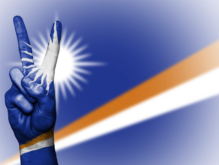 фото - оффшор Маршалловы острова флаг