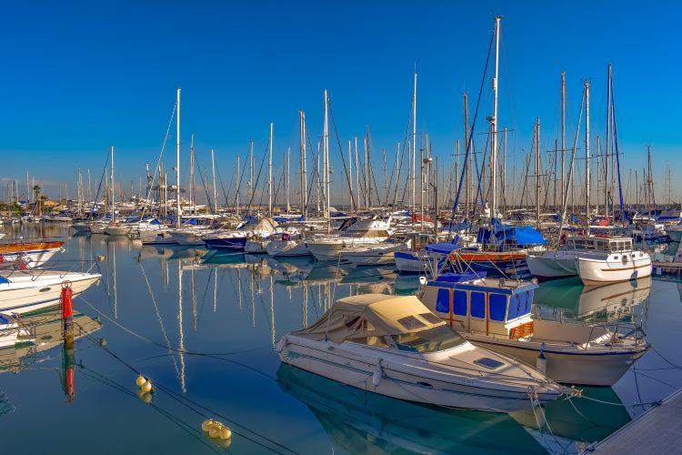 Яхты на Кипре