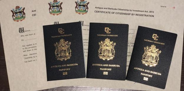 Покупка гражданства Антигуа
