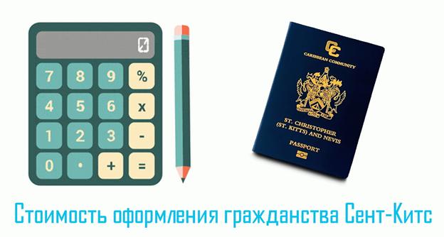 Паспорт Сент-Китс и Невис - стоимость