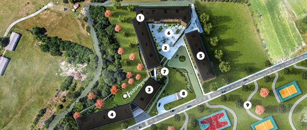 План отеля Montis Mountain Resort