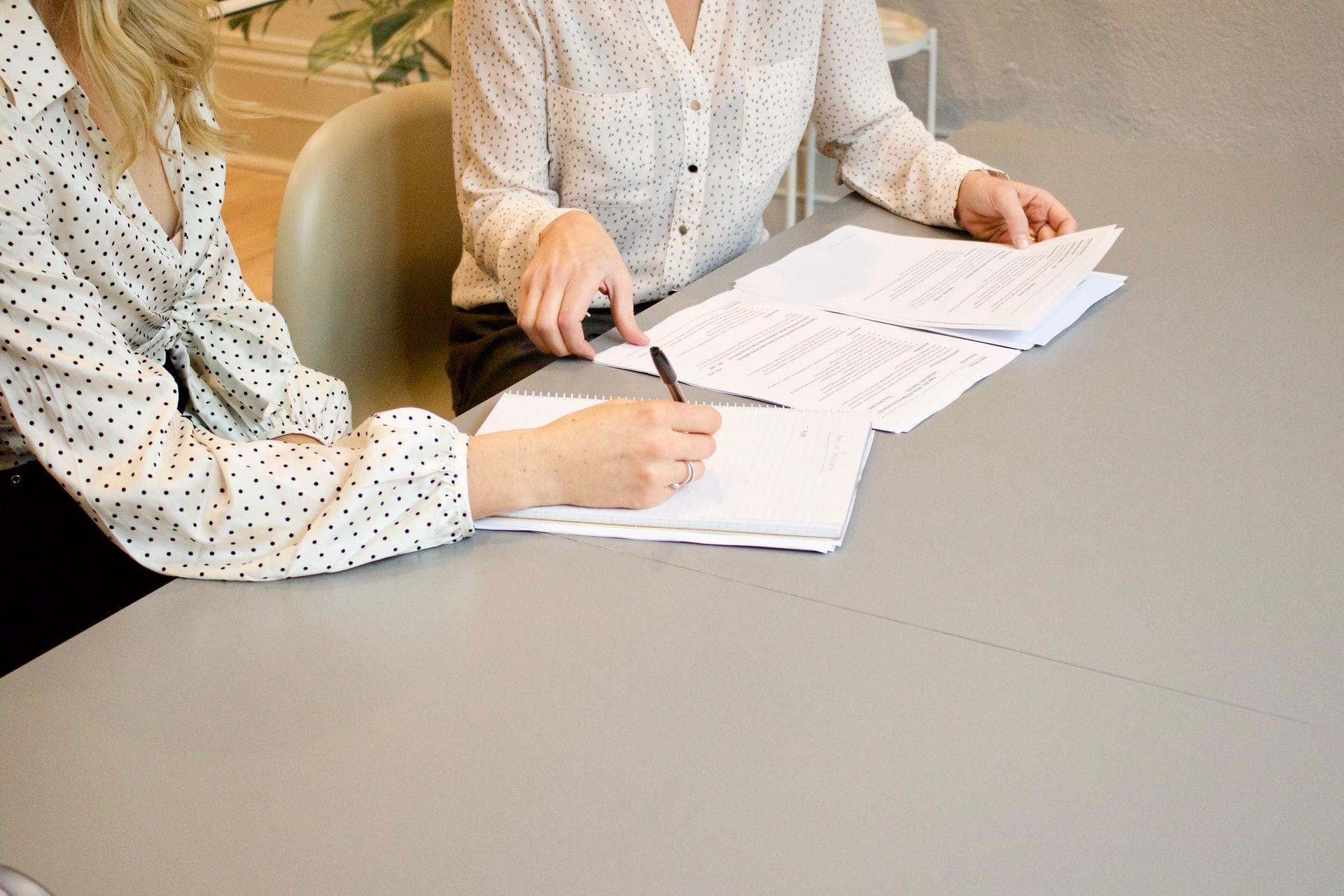 Документы для бухгалтерии