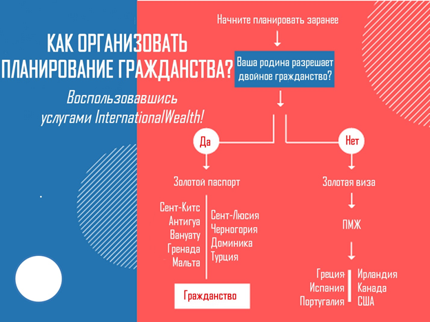 Процесс организации планирования получения гражданства
