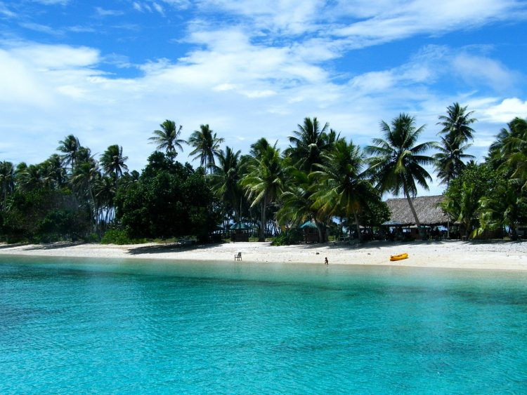 offshore in the Marshall Islands