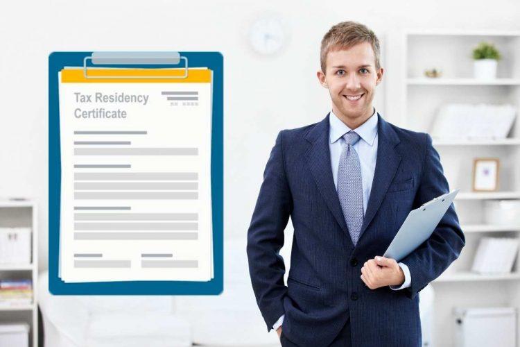 Сертификат налогового резидента