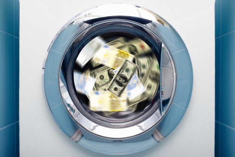 Картинка - отмывание денег