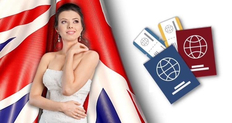 Английская виза жены