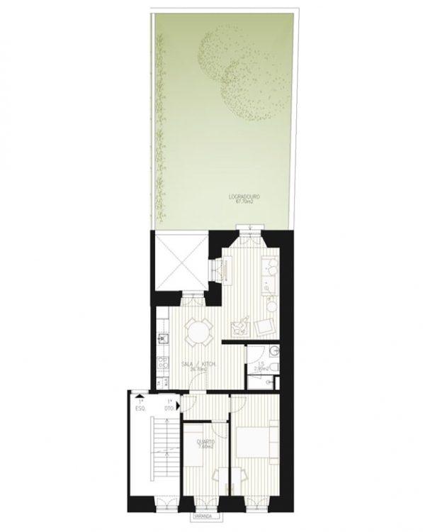 Двухкомнатные апартаменты в Грасе