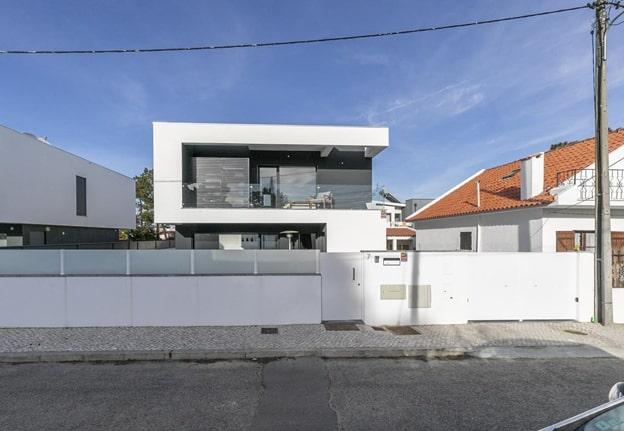 вилла в Португалии на территории сообщества Ароейра