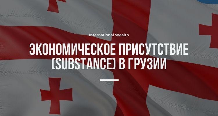 Экономическое присутствие в Грузии - картинка
