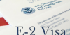Как долго действует виза E2 в США?