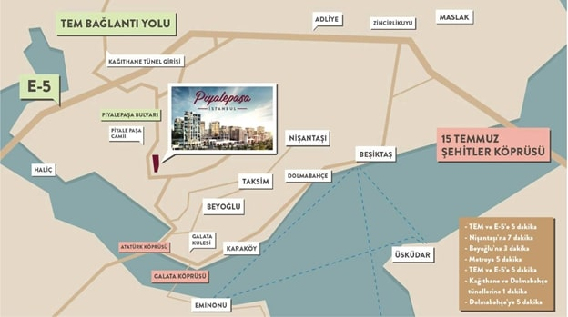Проект Piyalepaşa İstanbul