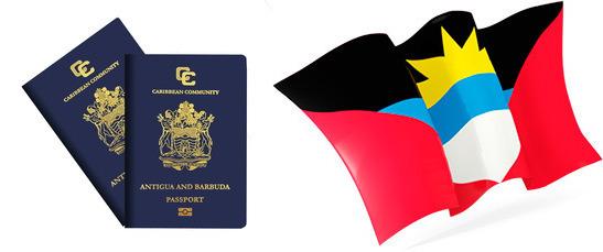 Флаг и паспорт Антигуа
