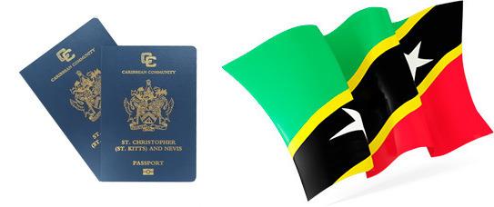 Флаг и паспорт Сент-Китс