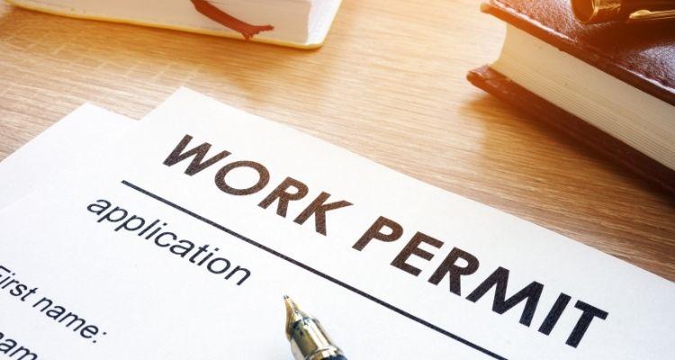 Разрешение на Работу- картинка