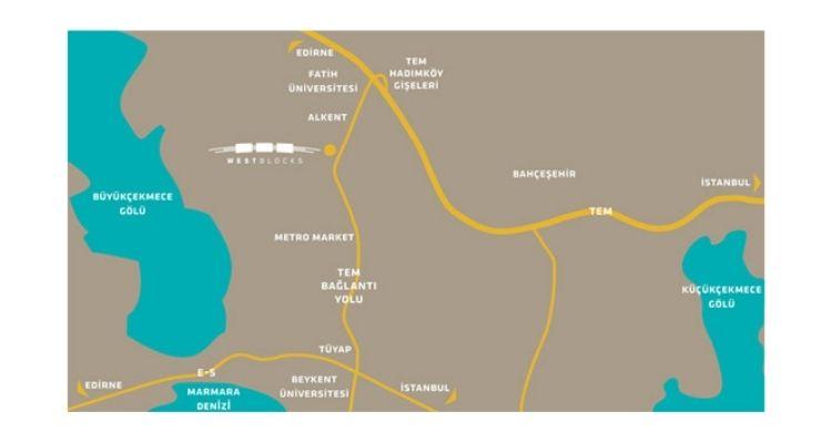 картинка - Пересечения автомагистралей ТЕА и E-5