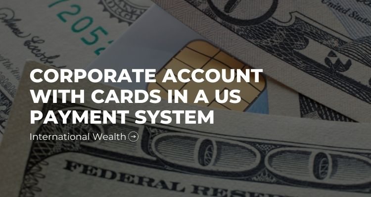Account in us payment system - picture