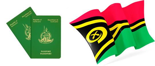 Флаг и паспорт Вануату