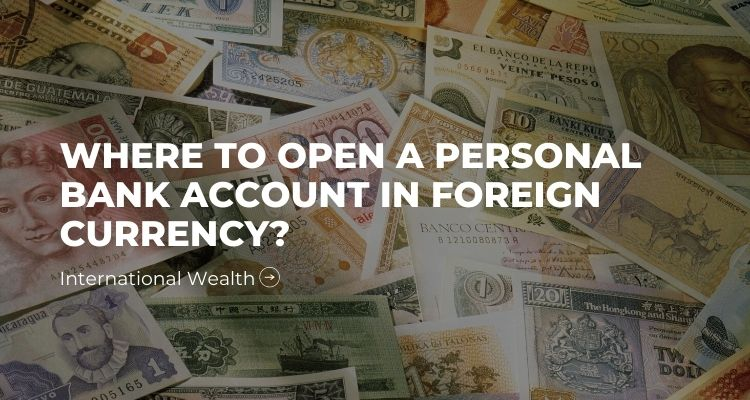 Image - Personal Bank Account in Foreign Currency