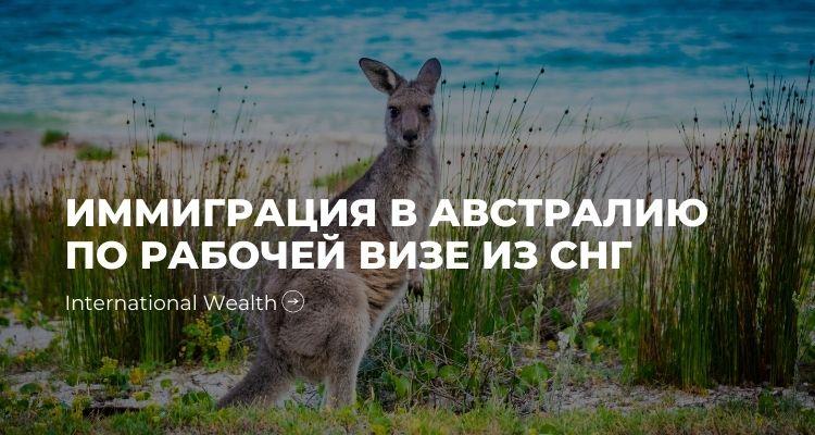 Иммиграция в Австралию - картинка