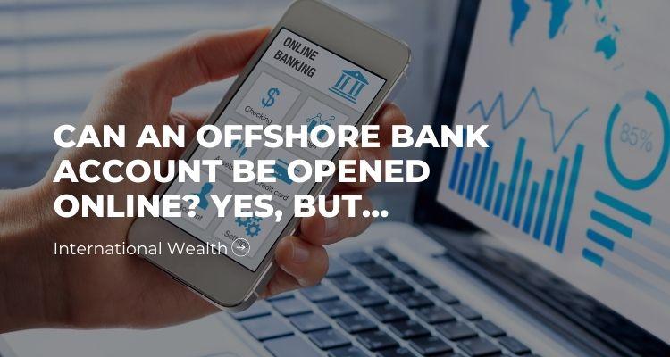 Image - Offshore Bank Account online