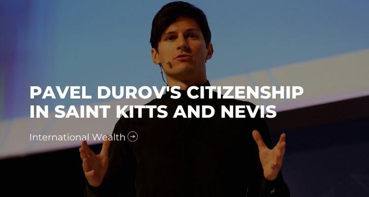 picture - Pavel Durov's Citizenship