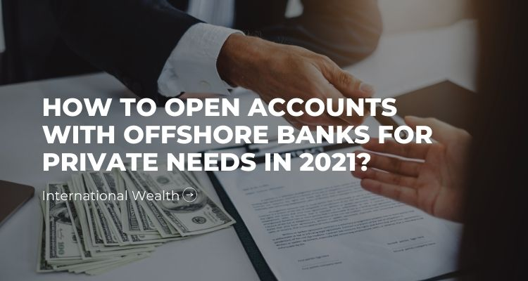 Picture - private offshore account
