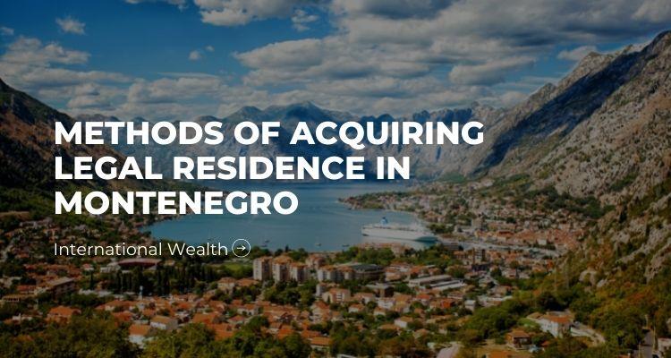 legal residence in Montenegro - image