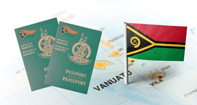 Паспорт Вануату - картинка