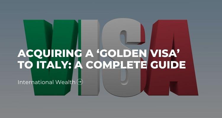 Golden Visa Italy - image