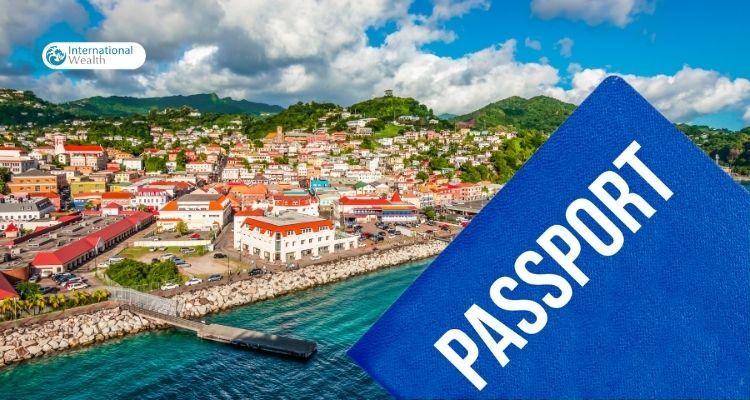 Grenada passport - image