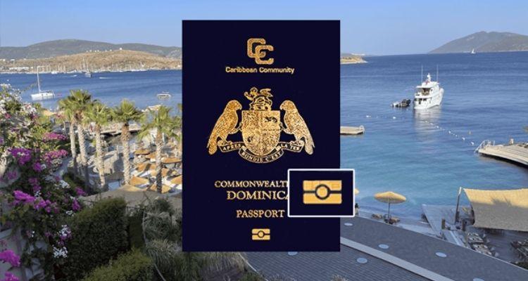 Биометрический паспорт Доминики