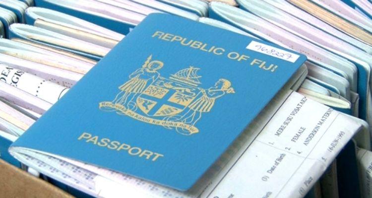 Паспорт Фиджи