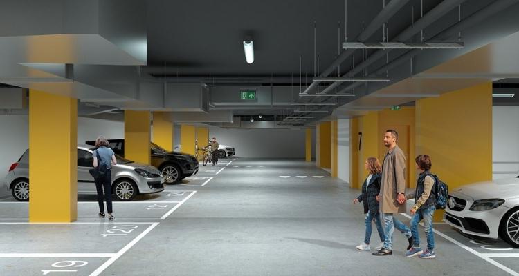 Подземная парковка ЖК