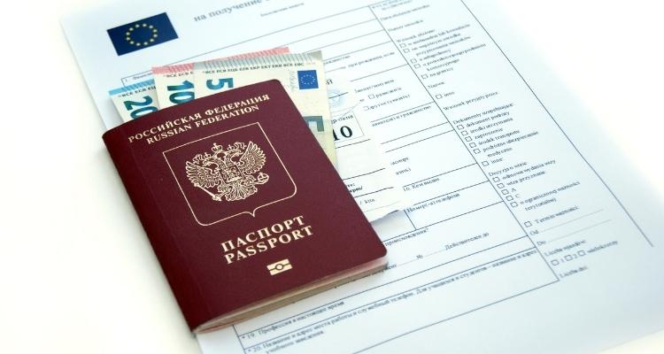 Шенгенская виза - анкета