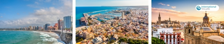 Побережья Испании